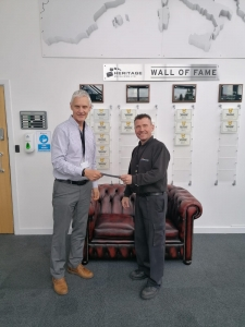 Ian Sears 20 years service award